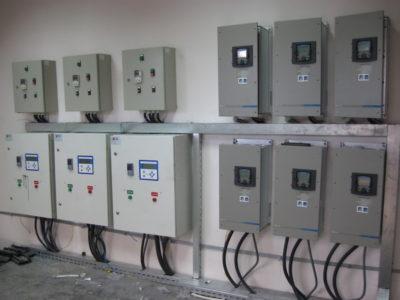 Шкафы системы электроснабжения