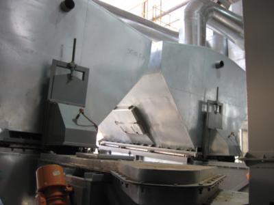 Аппарат сушильный с кипящим слоем СКС модификации М