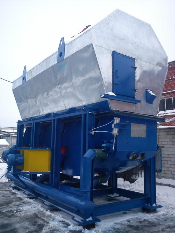 Аппараты сушильные виброкипящего слоя модели СВКС – С